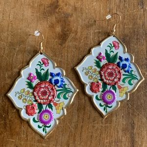Plunder Nonie Flower Earrings